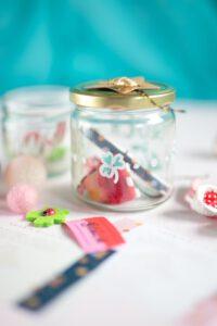 Glück im Glas - tolle Idee für Silvester, Gastgeschenke, Glück sammeln