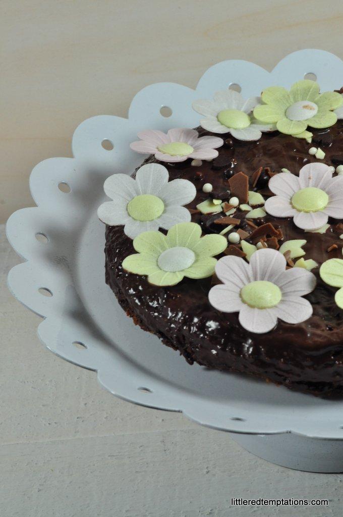 glutenfreie schokoladige Brownies