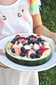 Erfrischung für den Sommer: fruchtige Melonenpizza