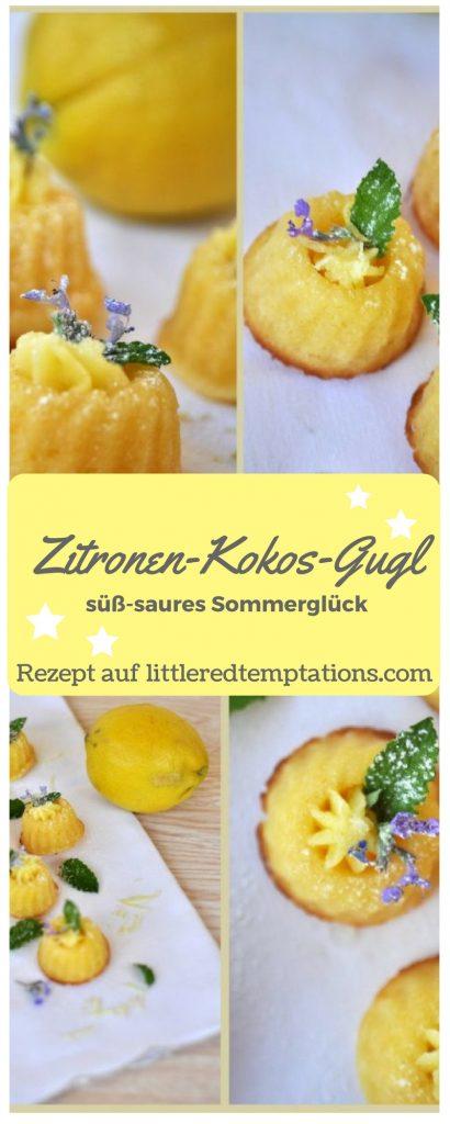 kleine Gugl mit frischer Zitronennote und feinem Kokosaroma
