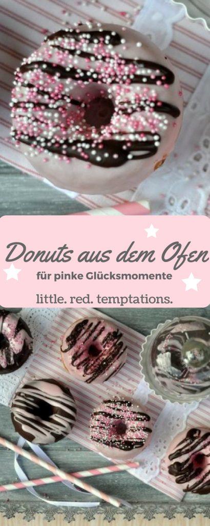 Donuts aus dem Ofen - fettärmer wie die frittierte Variante und ebenfalls sehr lecker. Hier findest du das Rezept