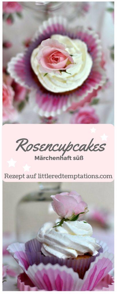 Rosencupcakes - einfach märchenhaft