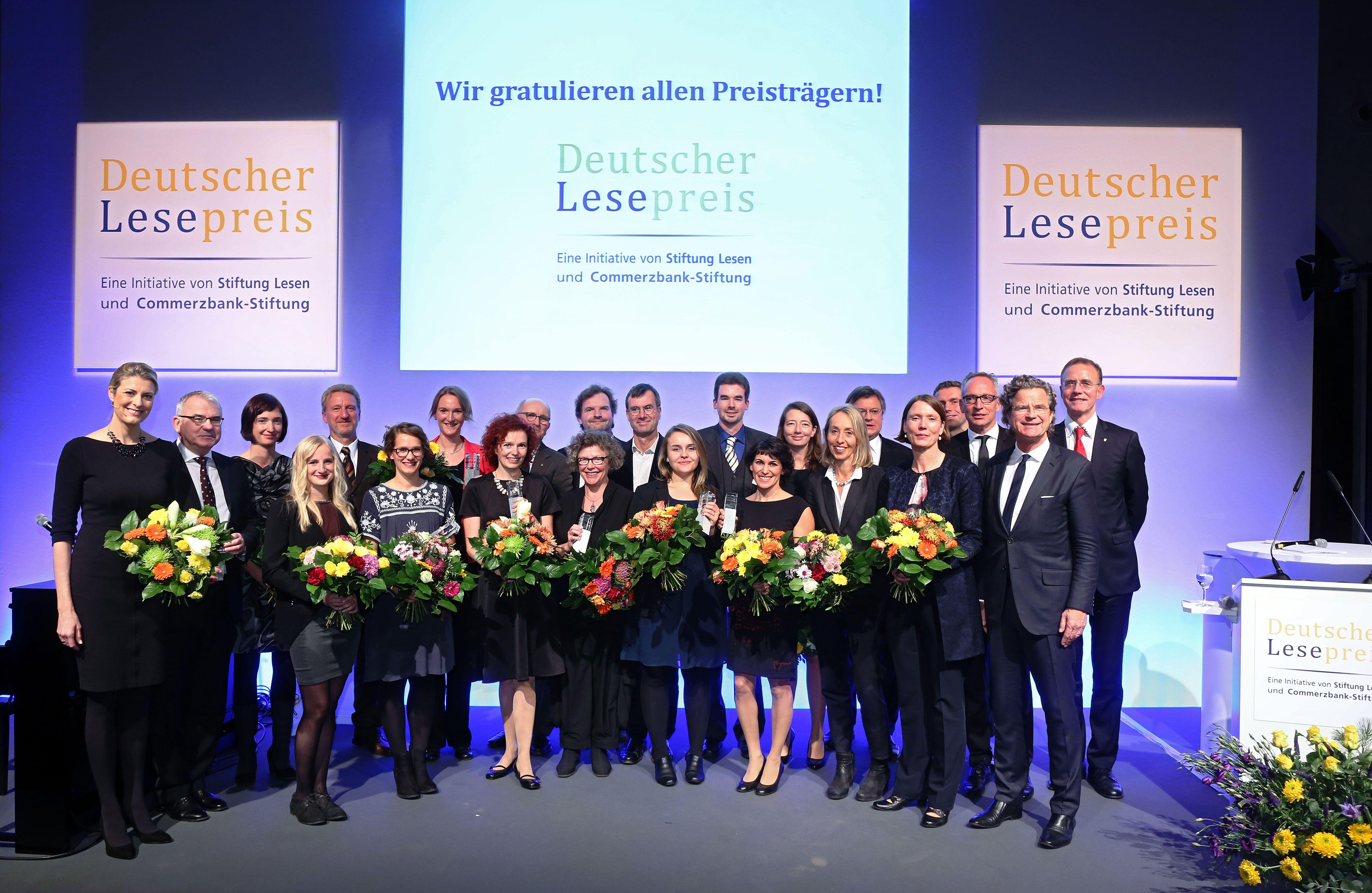 Stiftung Lesen. Deutscher Lesepreis. Preistraeger und Laudatoren