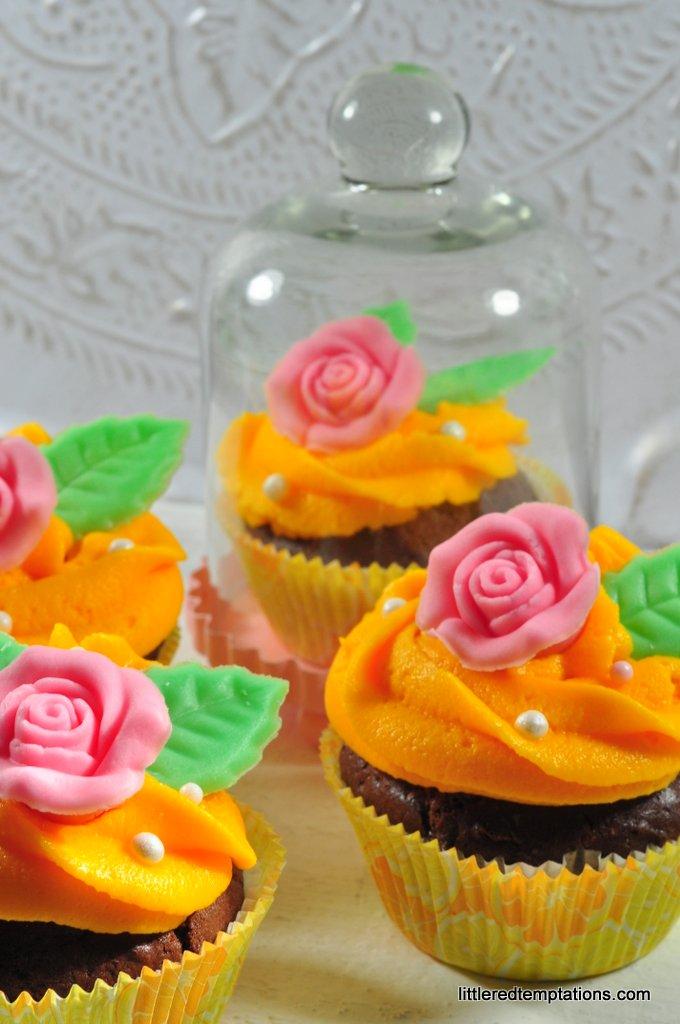 Die Schöne und das Biest Cupcakes