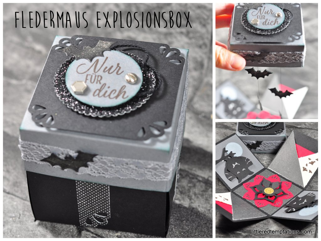 Explosionsbox zu Halloween