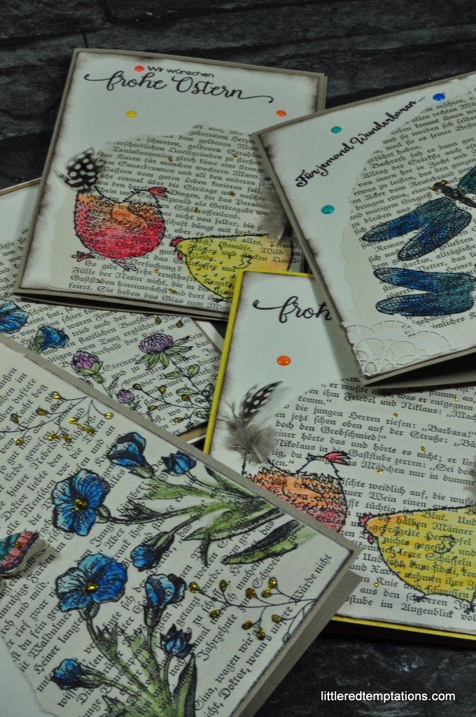 Vintage Karten