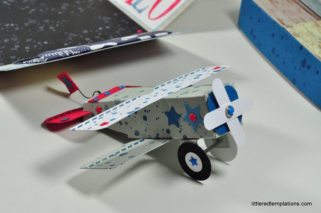 Stampin Up Flugzeug
