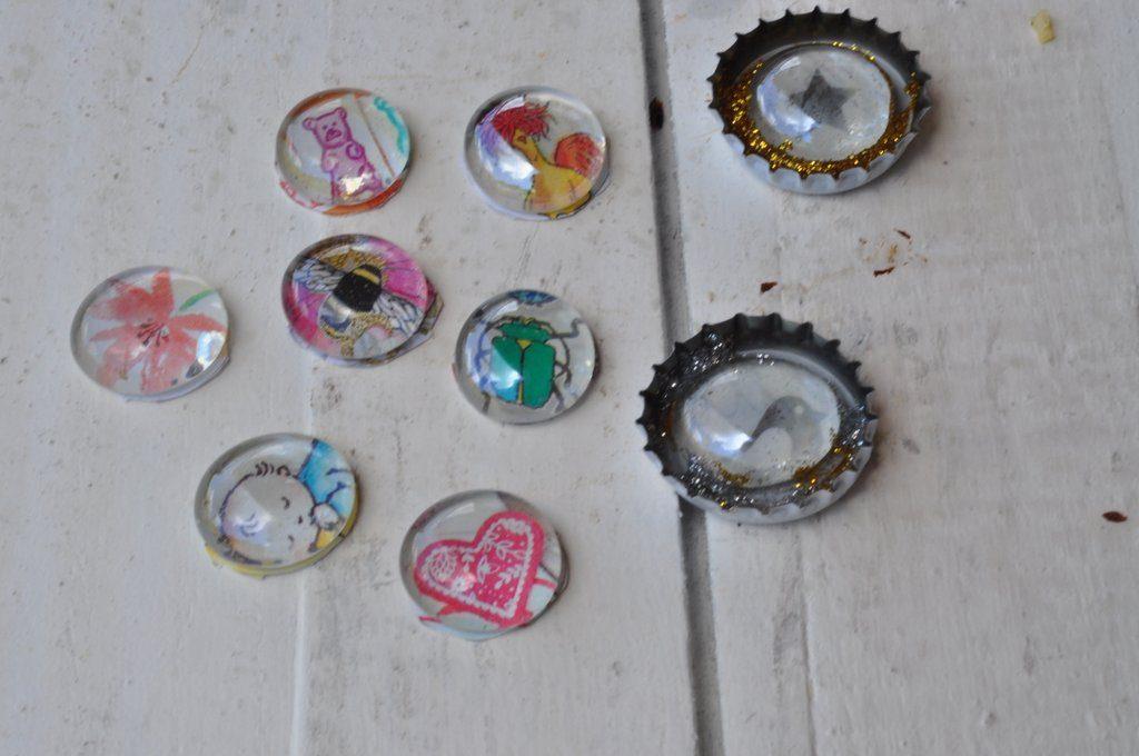 Muggelsteine als Erzählsteine oder Kühlschrankmagnete