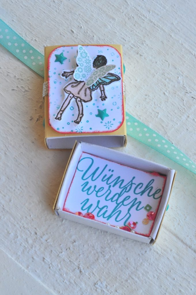 """Feenkästchen """"Einfach zauberhaft"""" - Wünsche werden wahr Feenverpackung"""