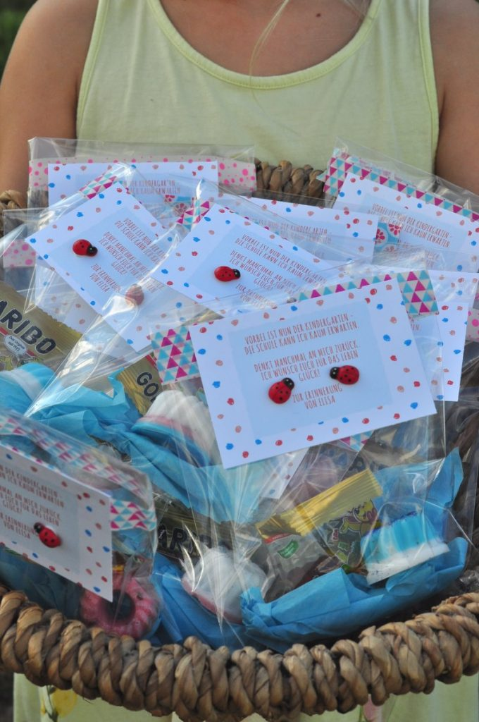 Abschied vom Kindergarten - Geschenkidee für Erzieherinnen und Kinder: kleine selbstgemachte Seifen