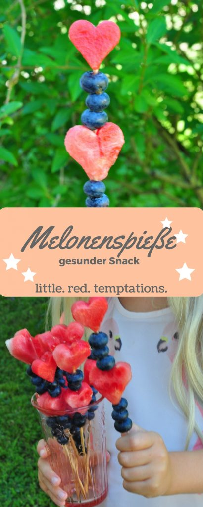 Erfrischung für den Sommer: fruchtige Melonenspieße