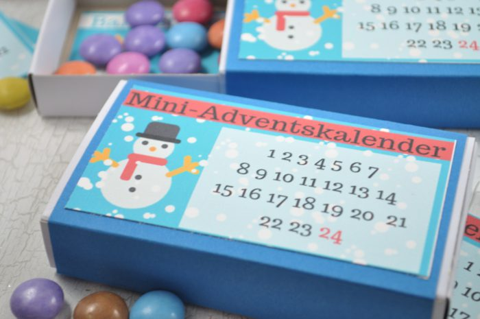 Der schnellste Adventskalender der Welt: ratzfatz gemacht und für Kinder total niedlich ist dieser Adventskalender to go.