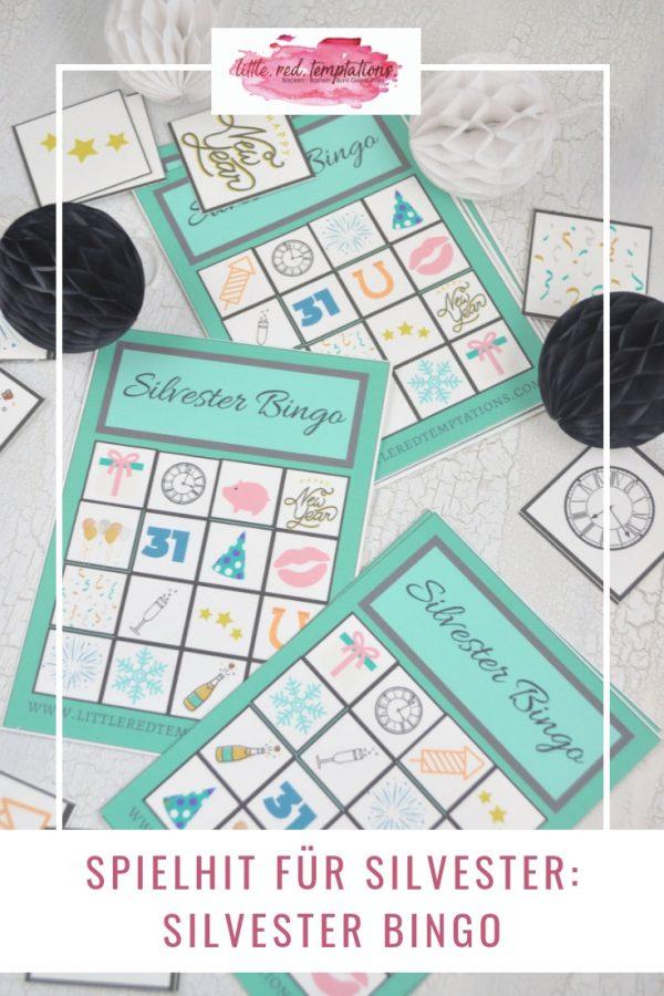 Super für Silvester: Ein Silvesterbingo bei dem Kinder und Erwachsene gleichermaßen Spaß am Spielen haben. Gratis zum Download steht die Vorlage auf dem Blog.